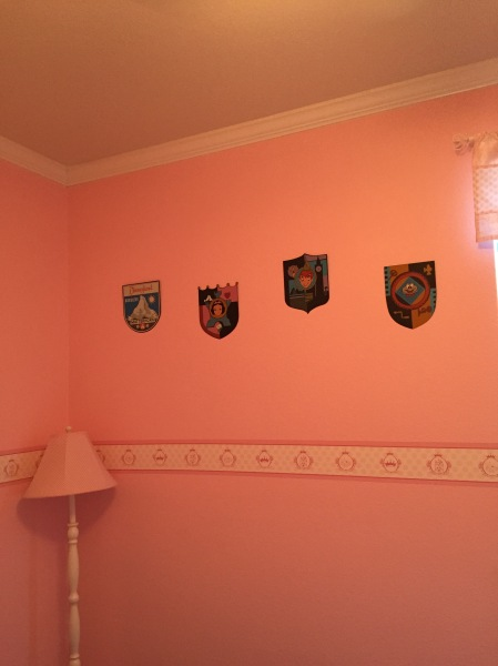 Four Fantasyland Shields
